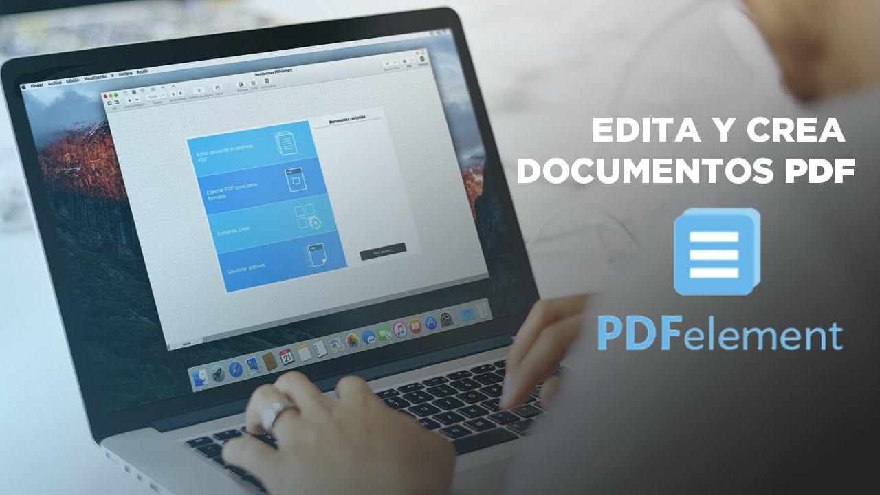 Edita y crea documentos PDFelement