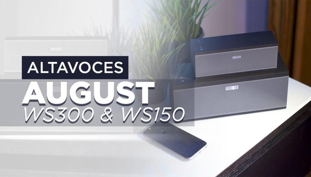 Altavoces August WS150 y WS300