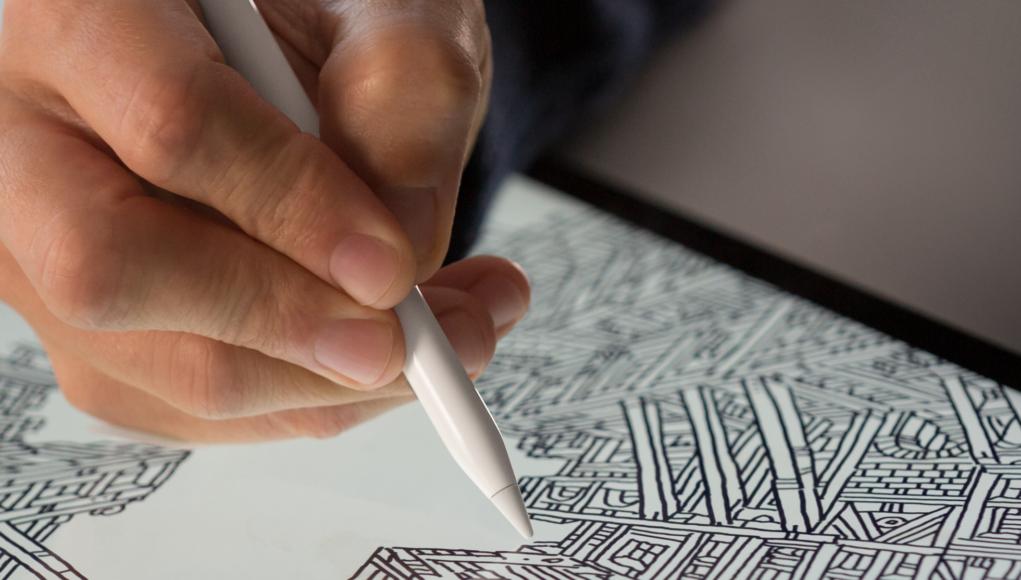 Apple Pencil en iPad
