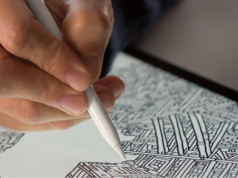 Apple Pencil en iPad