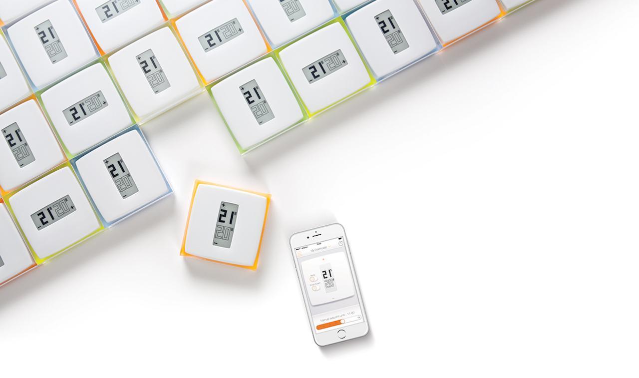 Netatmo el termostato compatible con homekit la manzana for Valvole termostatiche netatmo
