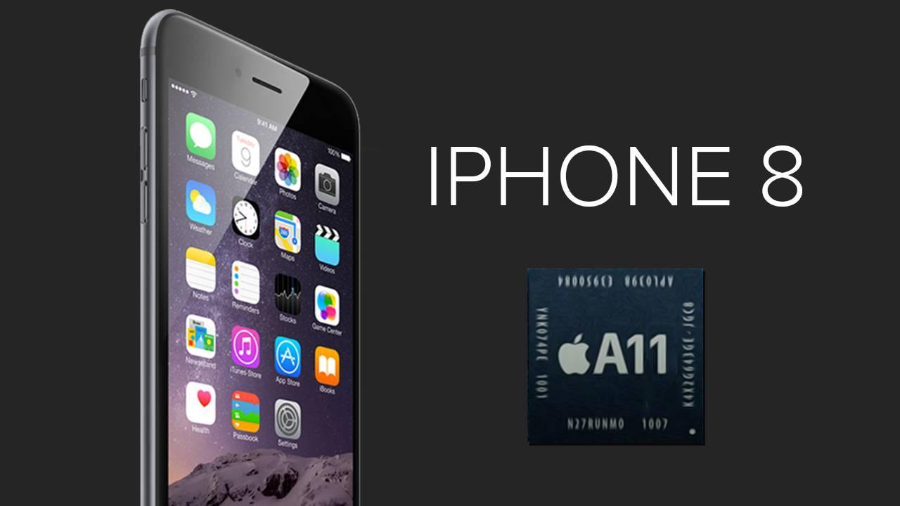 iPhone 8 con el A11 de TSMC