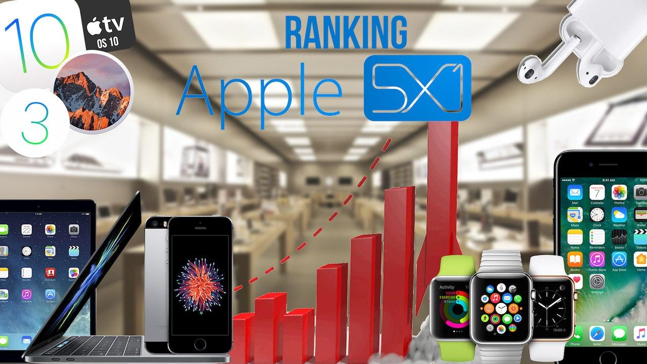 Ranking Apple5x1 2016