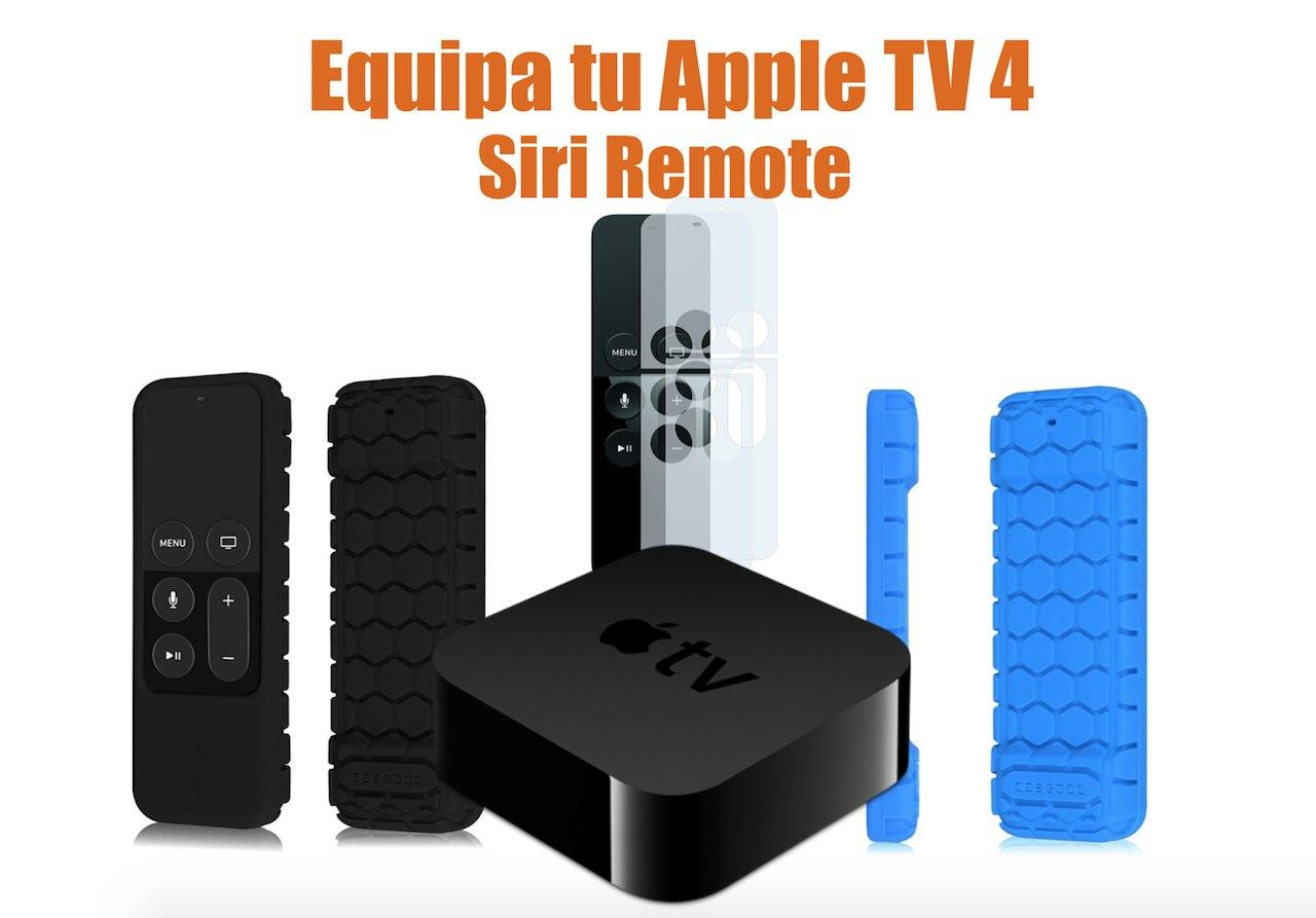 Fundas Siri Remote Apple TV 4