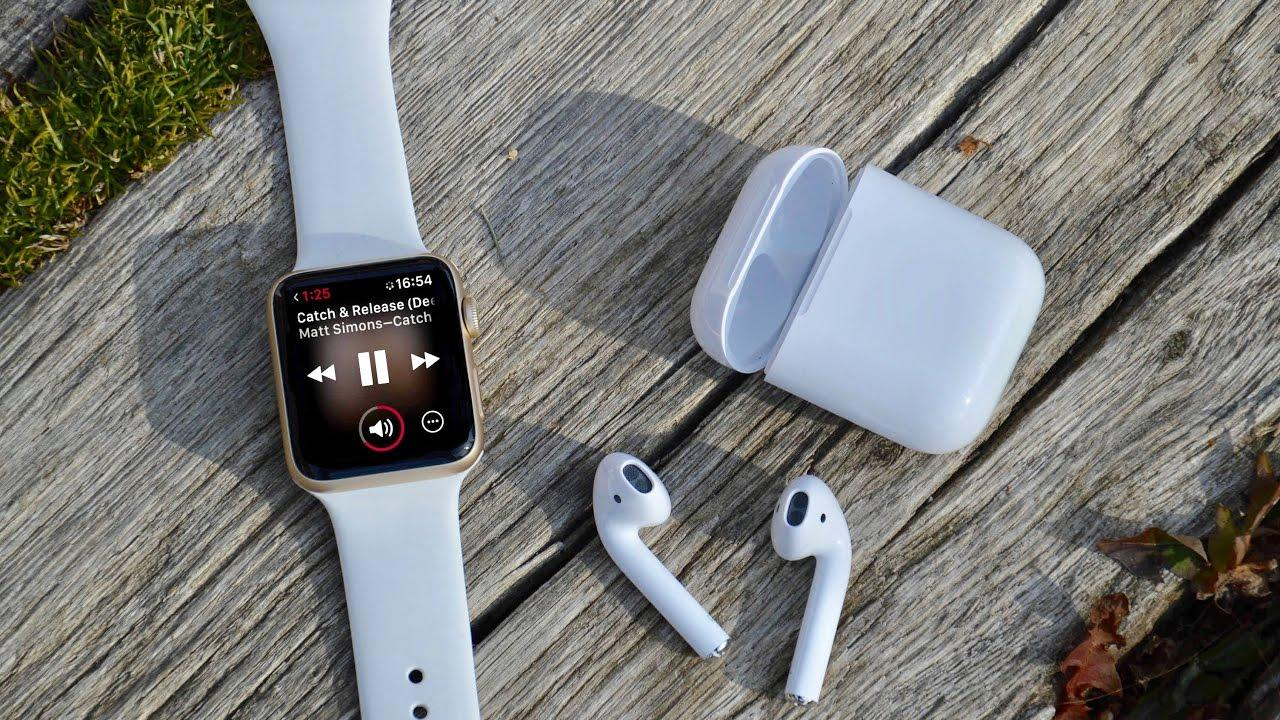 Apple Watch y los AirPods