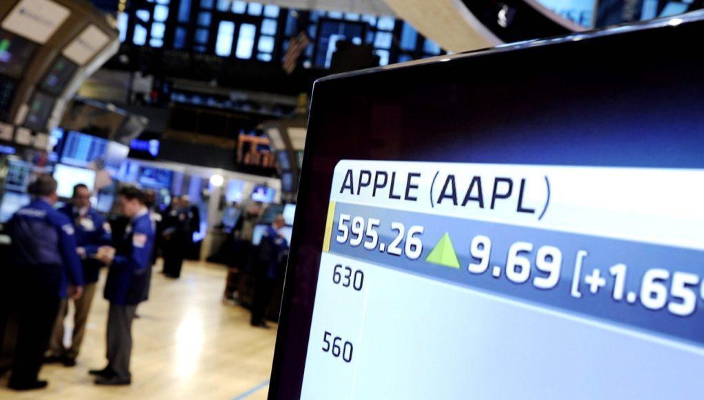 Valor en bolsa de Apple