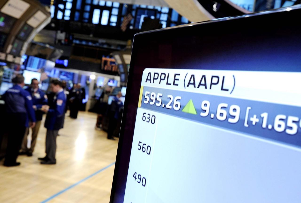 Valor en bolsa de Apple