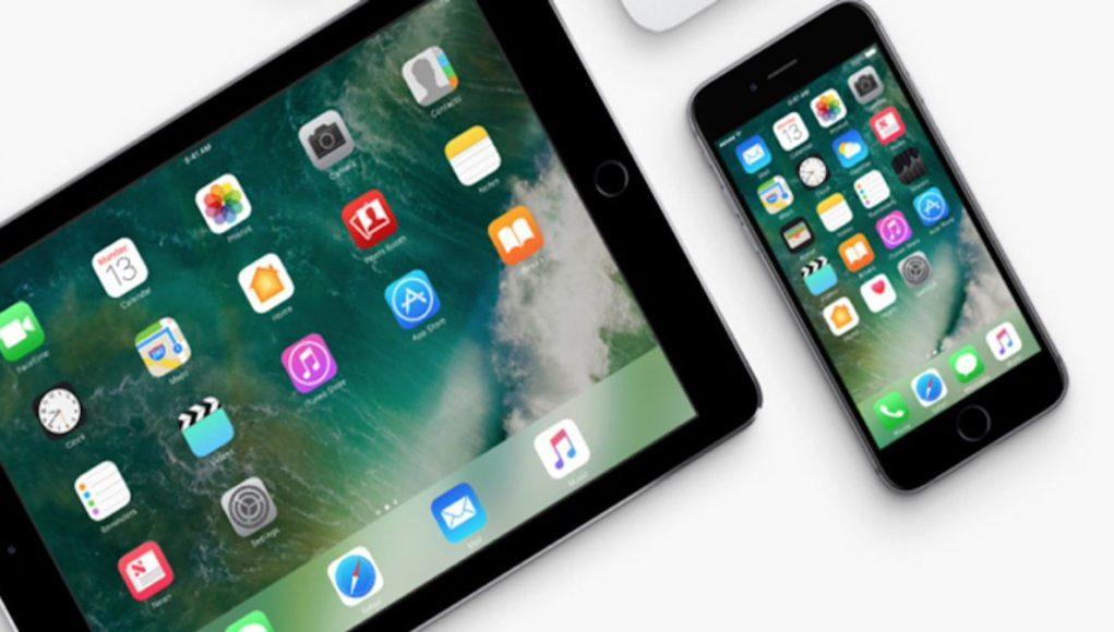 iOS 10.3 en tablet y iPhone