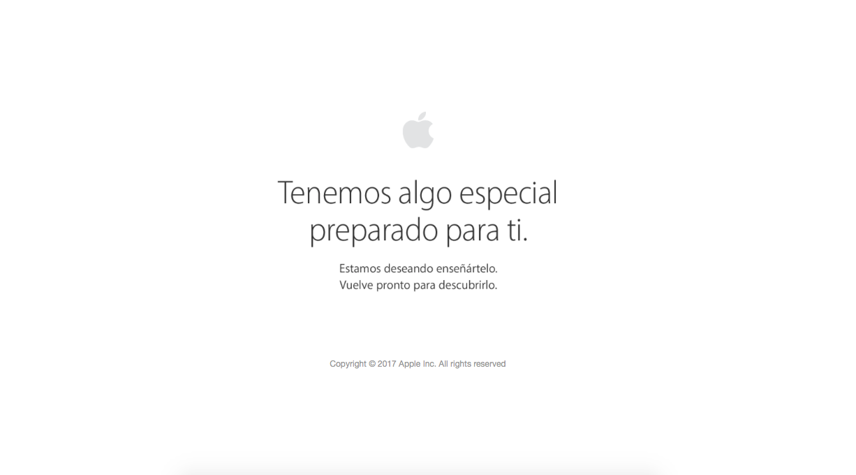 Apple Store Online en mantenimiento
