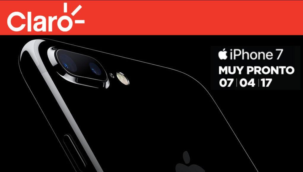 Claro trae el iPhone 7 a Argentina