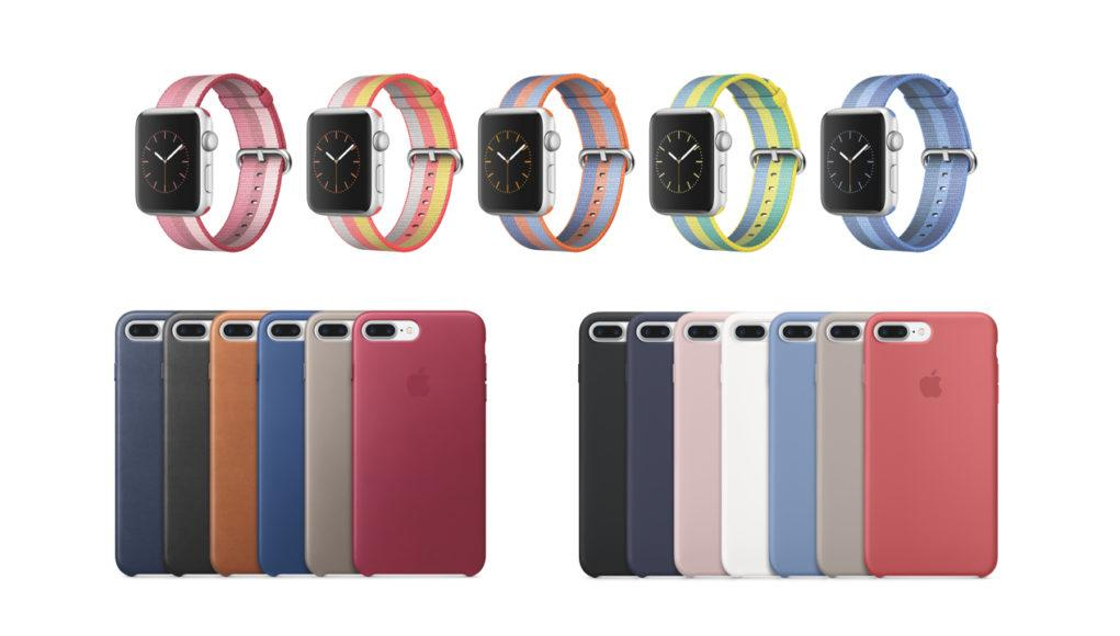 Nuevas correas y fundas Apple Watch y iPhone