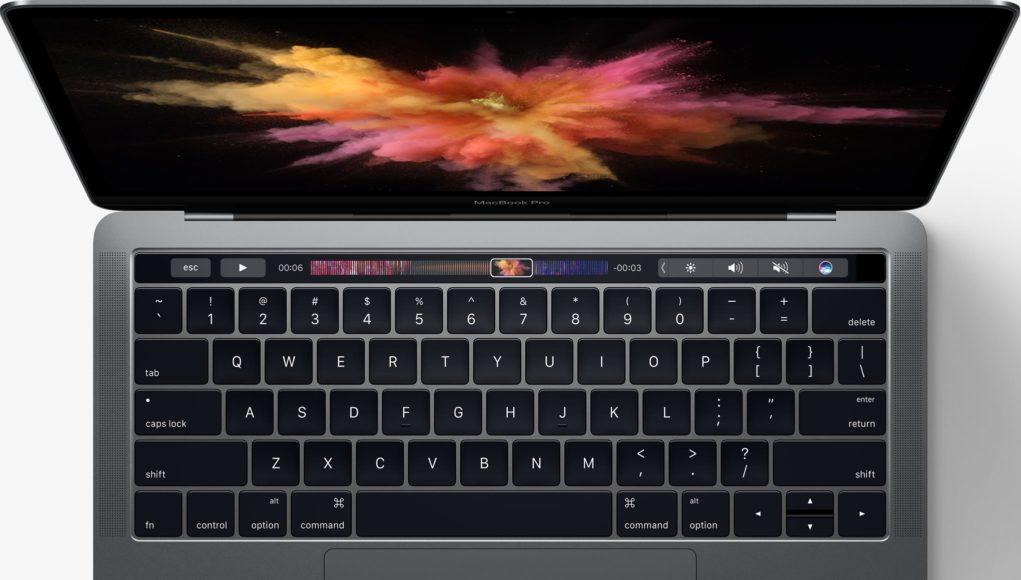 MacBook Pro con TouchBar 2016