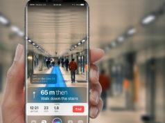 Realidad aumentada en un iPhone 8
