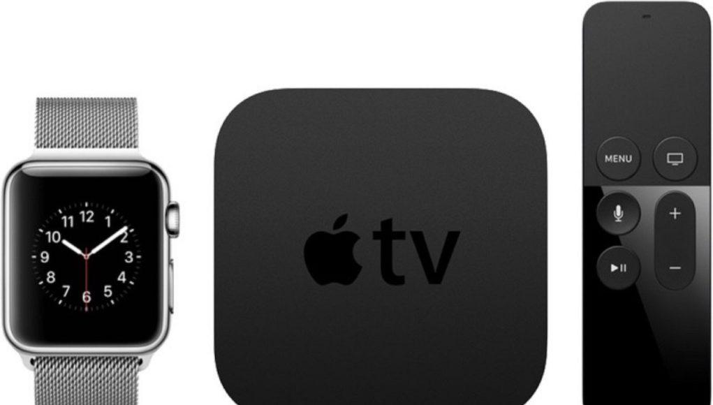 Apple Watch y Apple TV