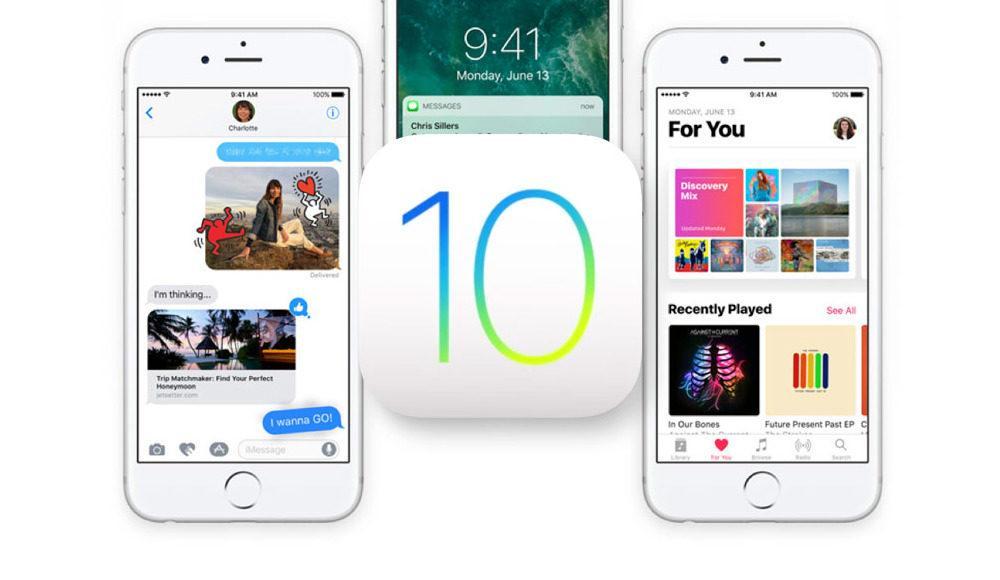 iOS 10, logotipo oficial