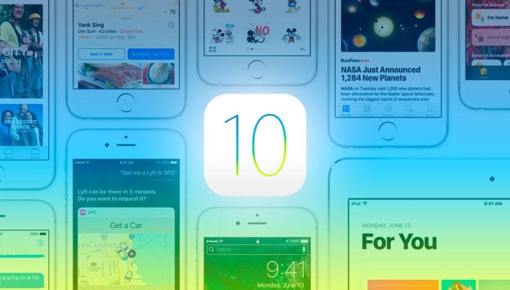 iOS 10 portada