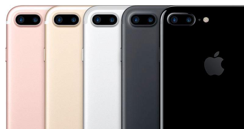 Colores iPhone 7 Plus