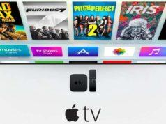 Apple TV conectada a un LED