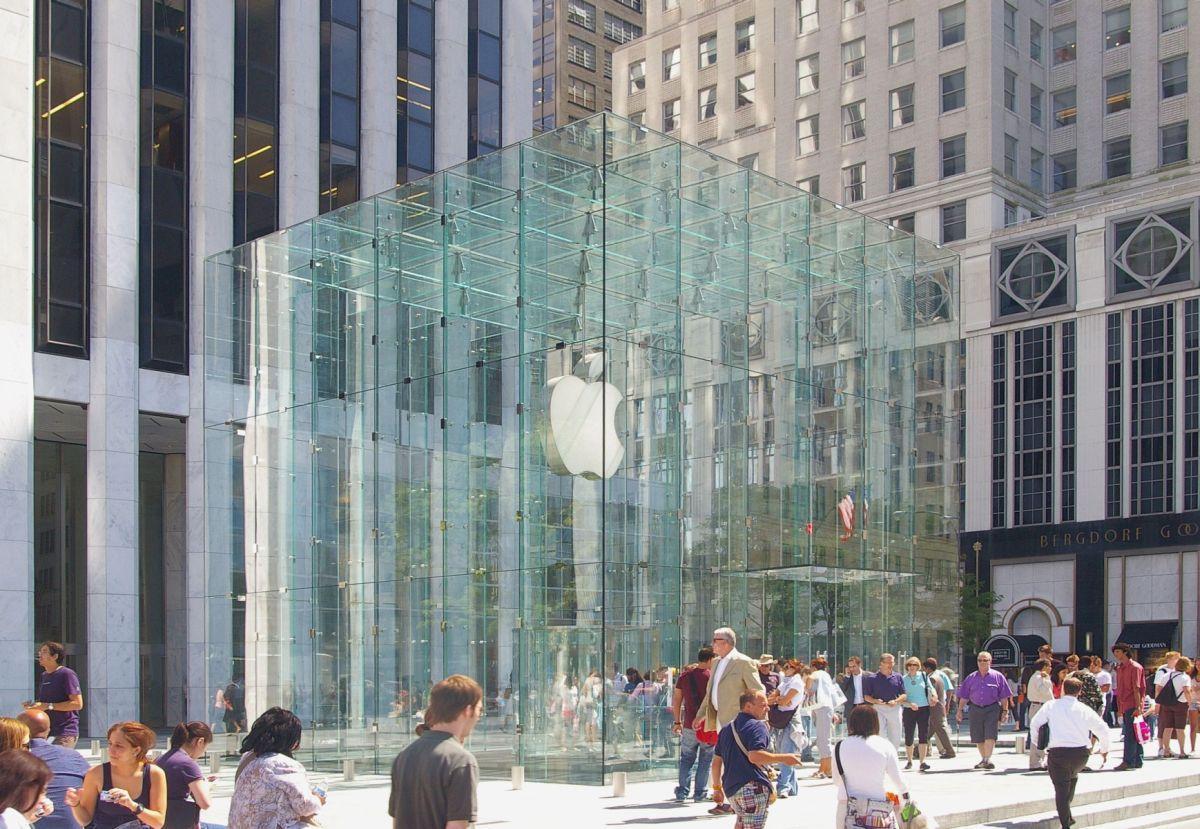Apple se plantea sustituir el cubo de cristal de la Apple Store de Nueva York