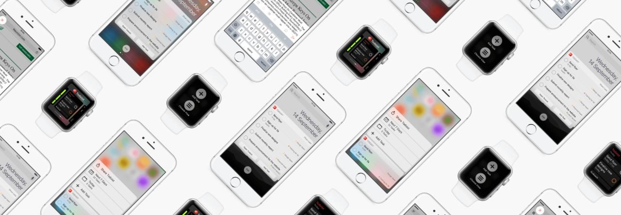 Todoist mejoras para iOS 10 y watchOS 3