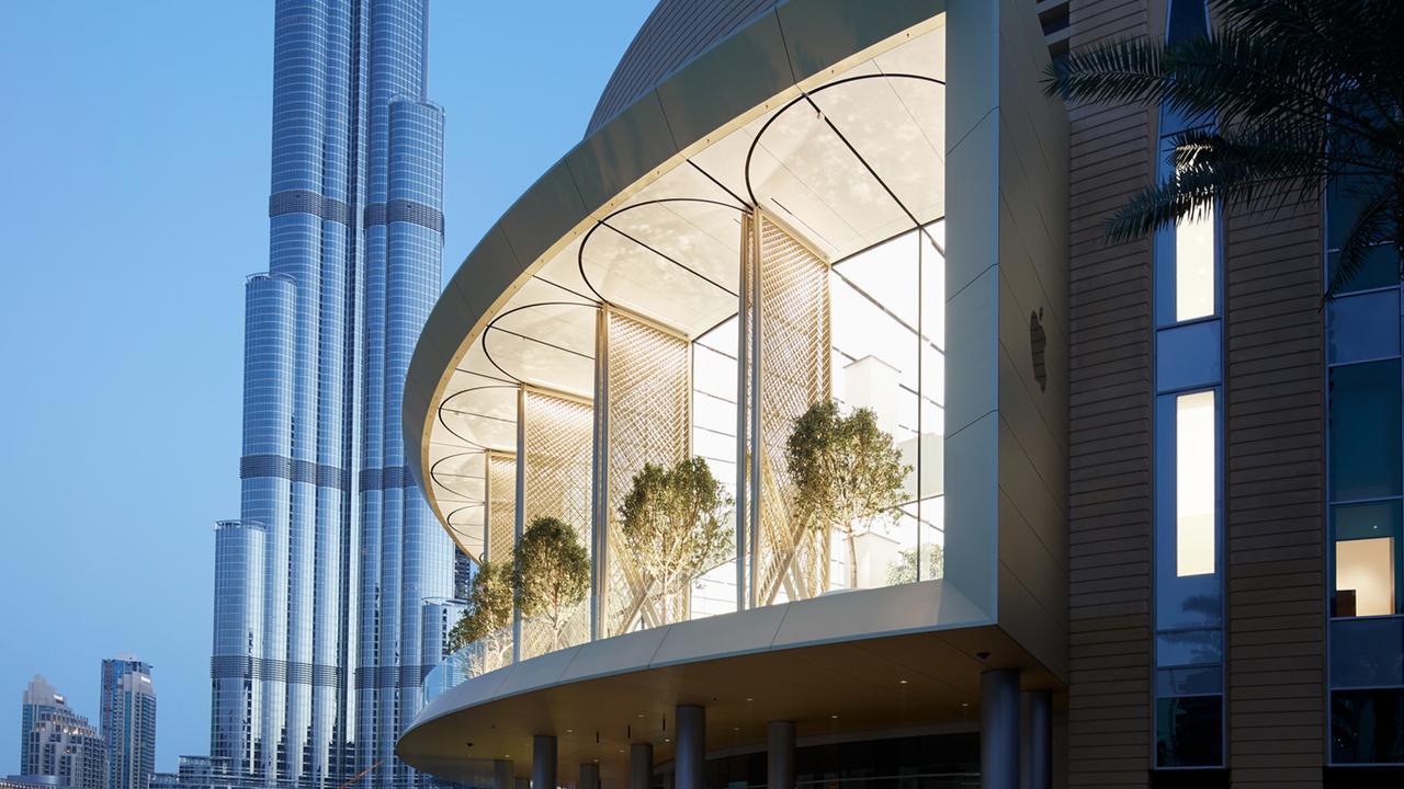 Nueva Apple Store en Dubai