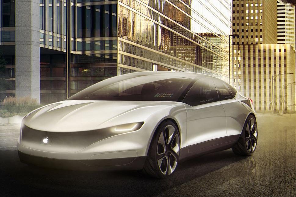 Modelo simulado de Apple Car.