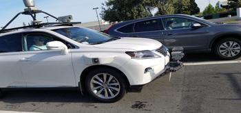 El coche autónomo de Apple ya ha sufrido su primer accidente de tráfico