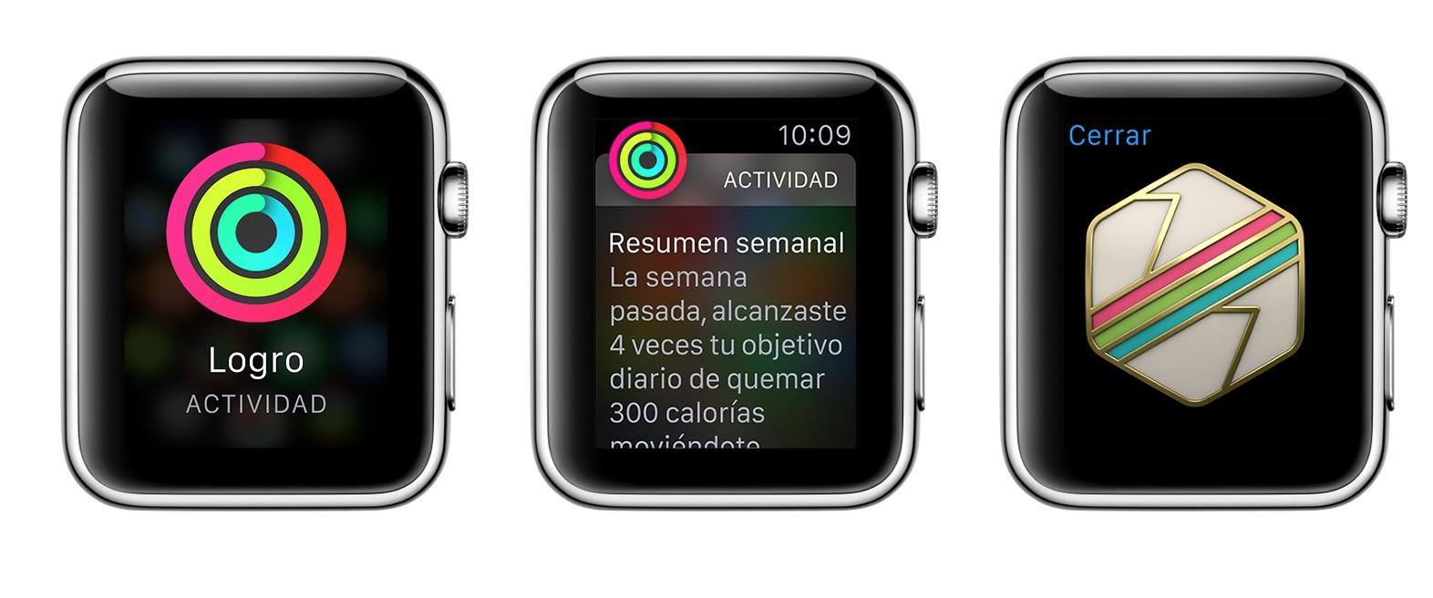 Anillos actividad Apple Watch