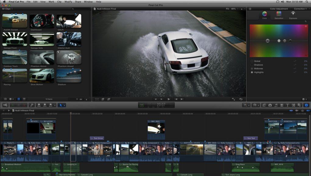 Final Cut Pro X llega a los dos millones de usuarios