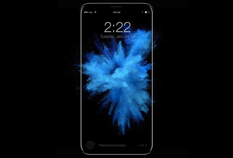 iPhone 8 concepto