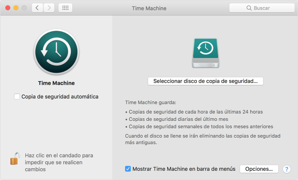 Como restaurar en un Mac una copia de seguridad hecha en Time Machine