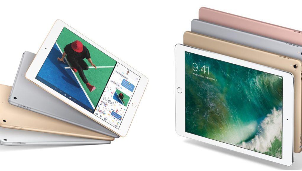 El iPad 2017 frente al iPad Pro 2016