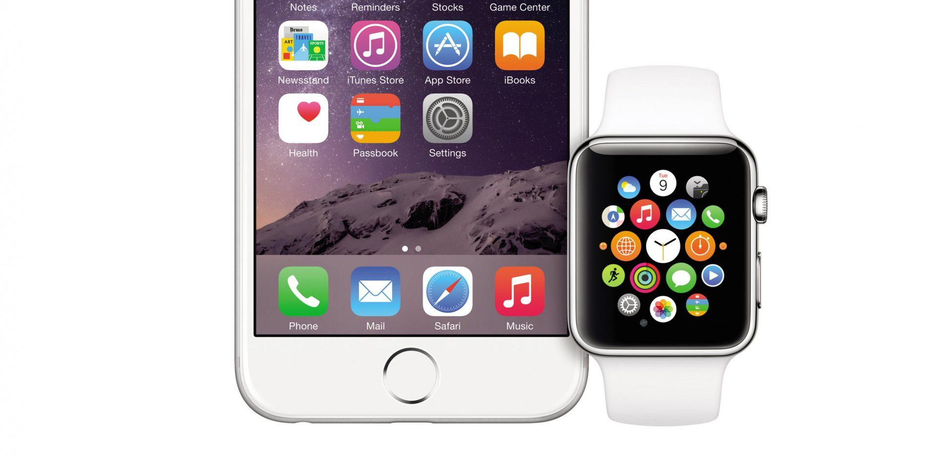 Apple Watch junto al iPhone