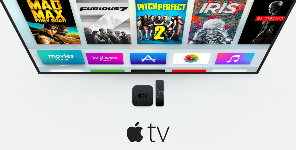 Apple TV 4 con tvOS 10