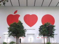 Fachada Apple Store de Singapur