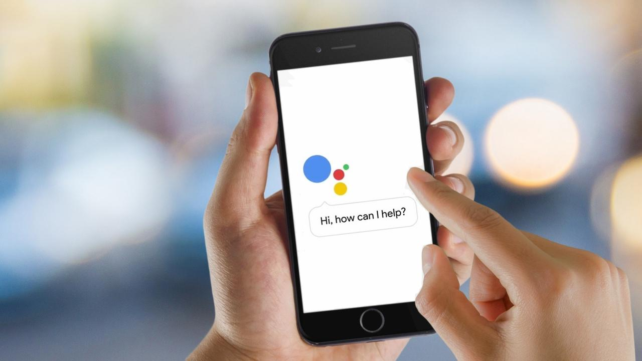 Google Assistant en iPhone