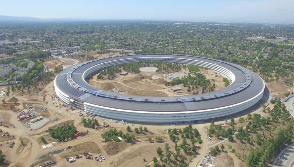 Nuevo video con vista aerea del Apple Park