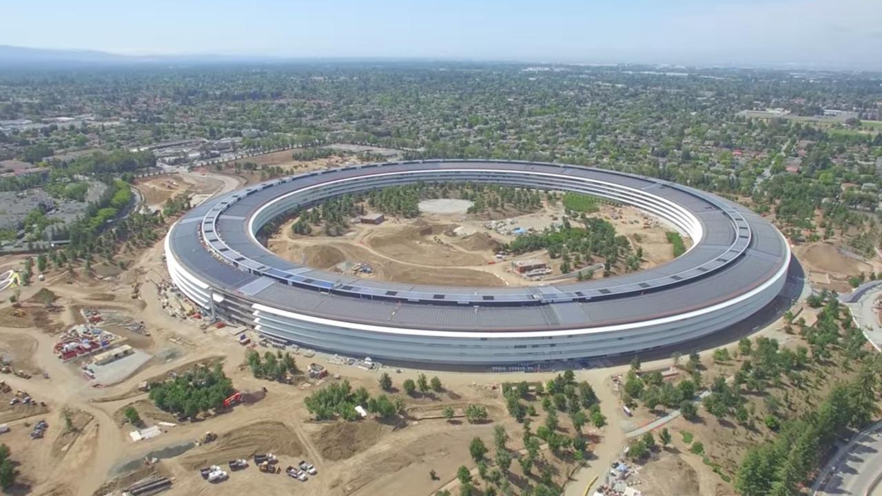 Nuevo video con vista aerea del Apple Park