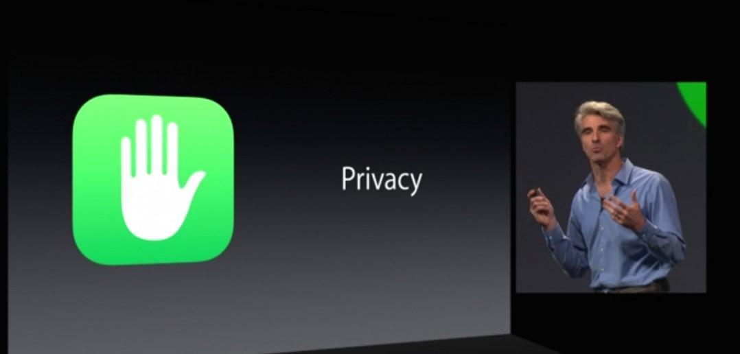 La privacidad en Apple