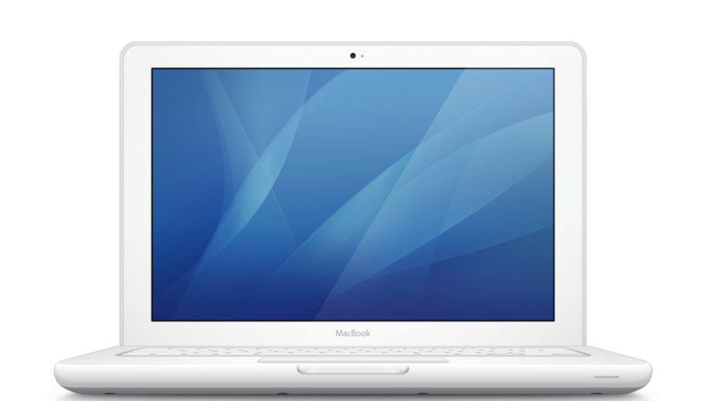 MacBook 2010 - plástico