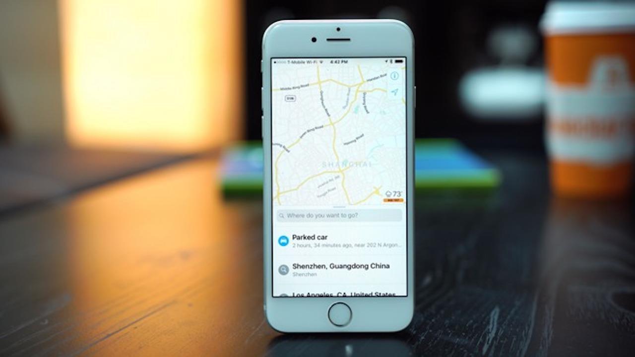 Mapas de Apple en iOS