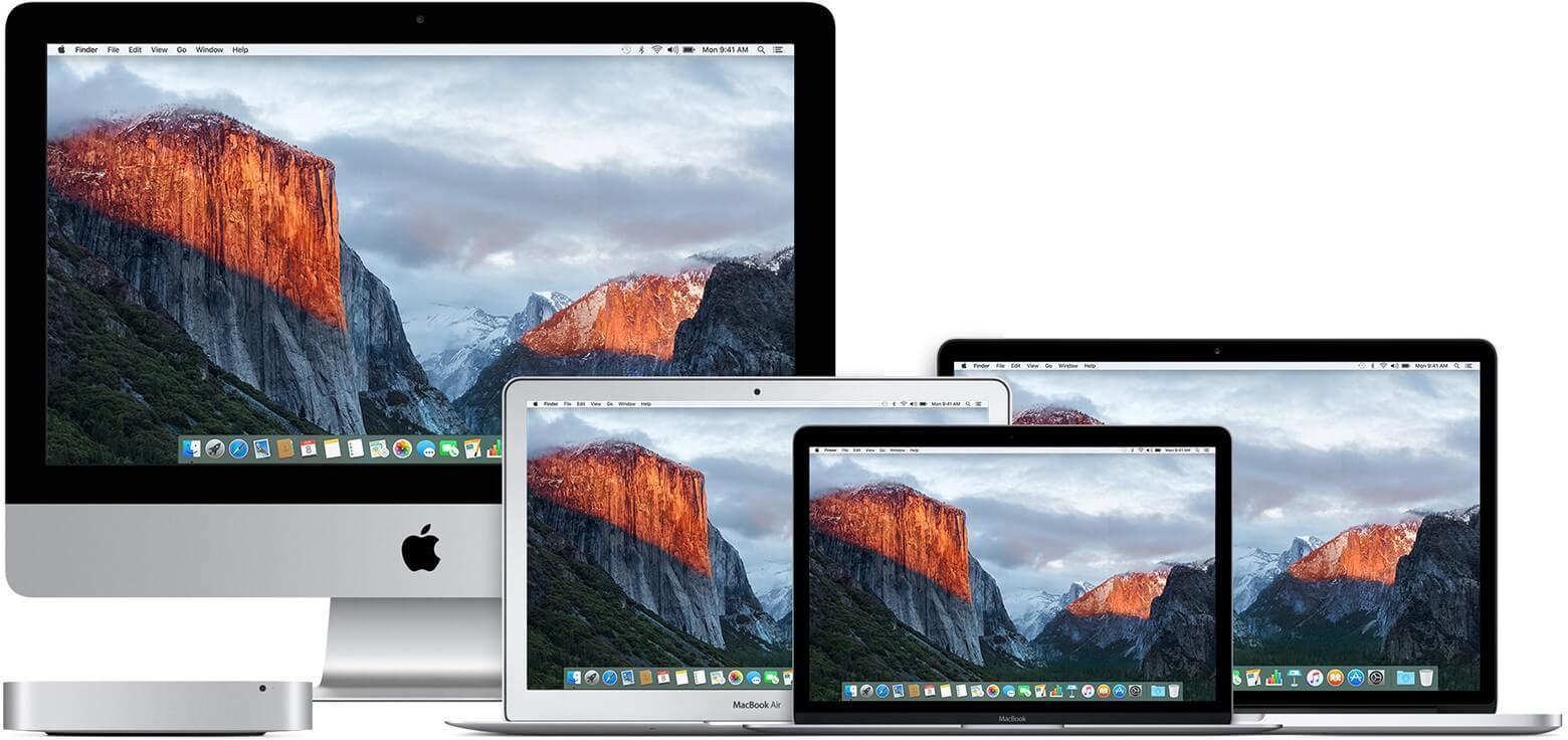 MacBooks y iMac
