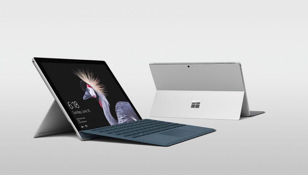 Surface Pro 5 rival del iPad Pro