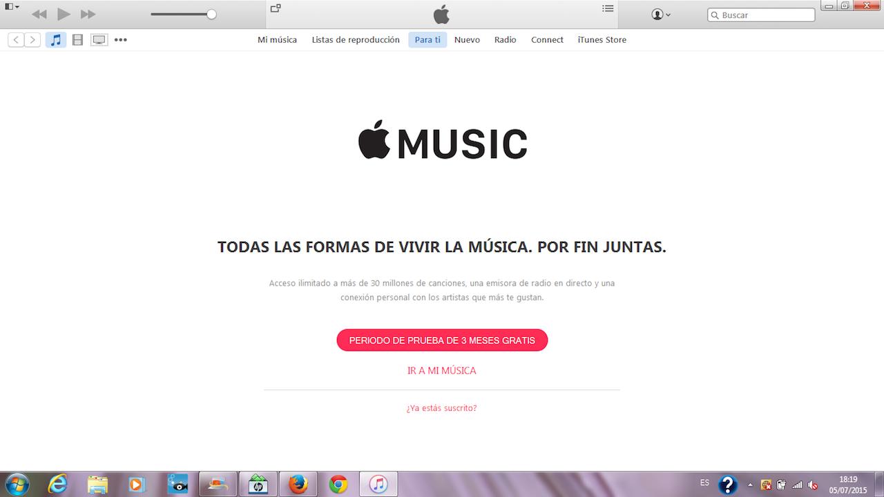 Apple Music en Windows