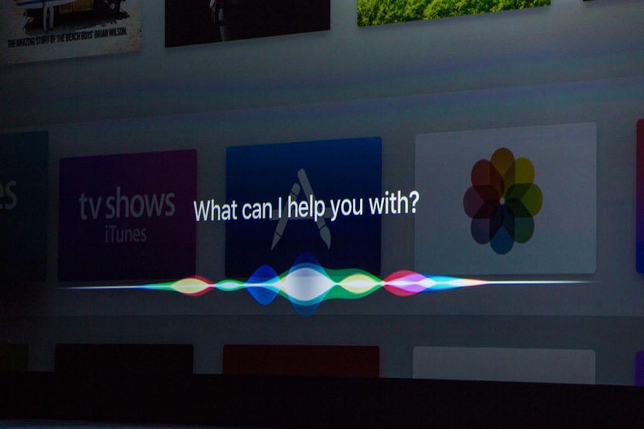 Siri en el Apple TV