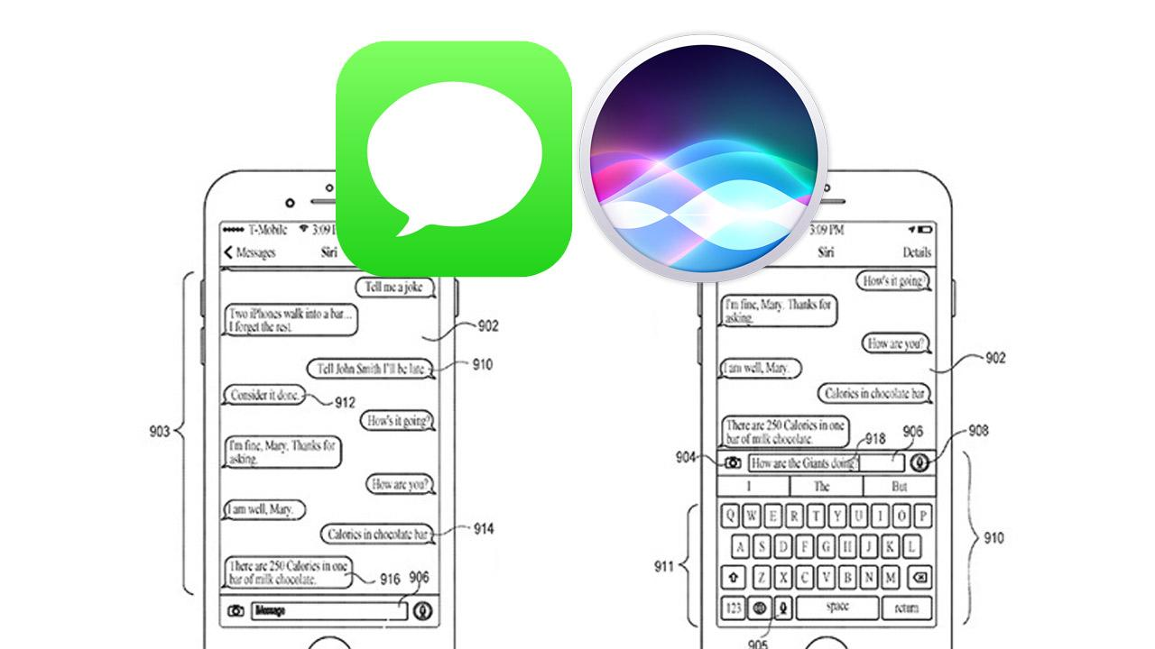 Integración de Siri en iMessages.