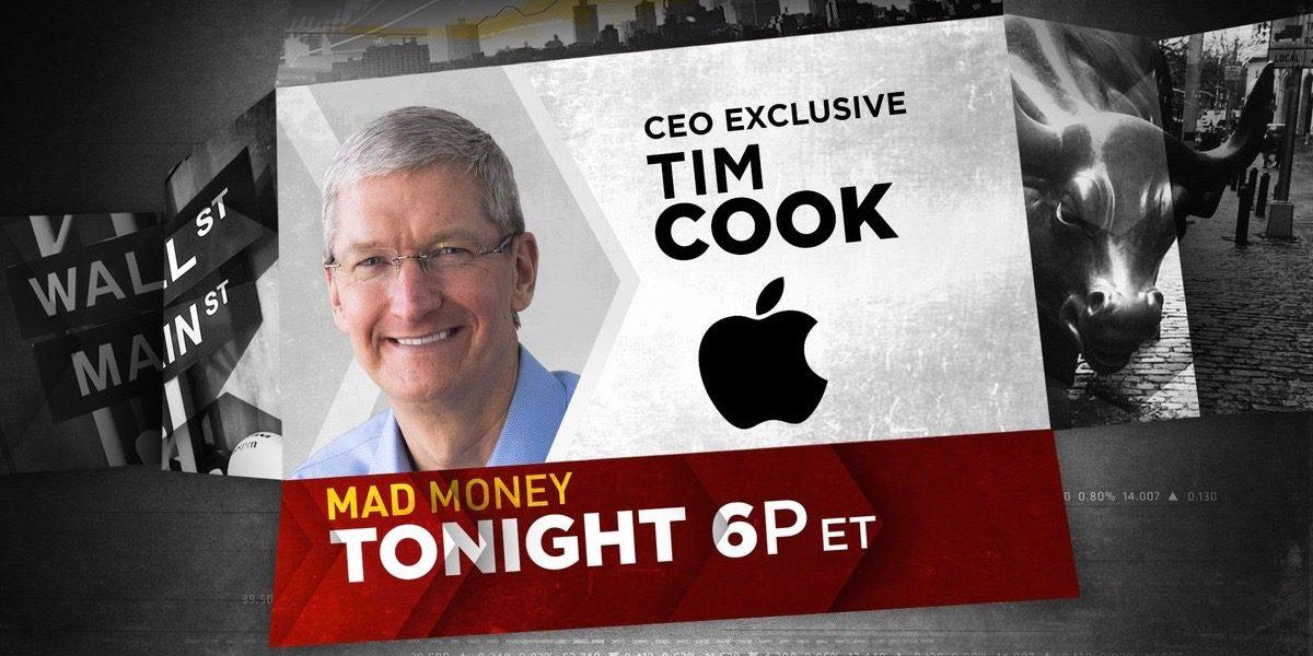 Tim Cook ha sido entrevistado en Mad Money