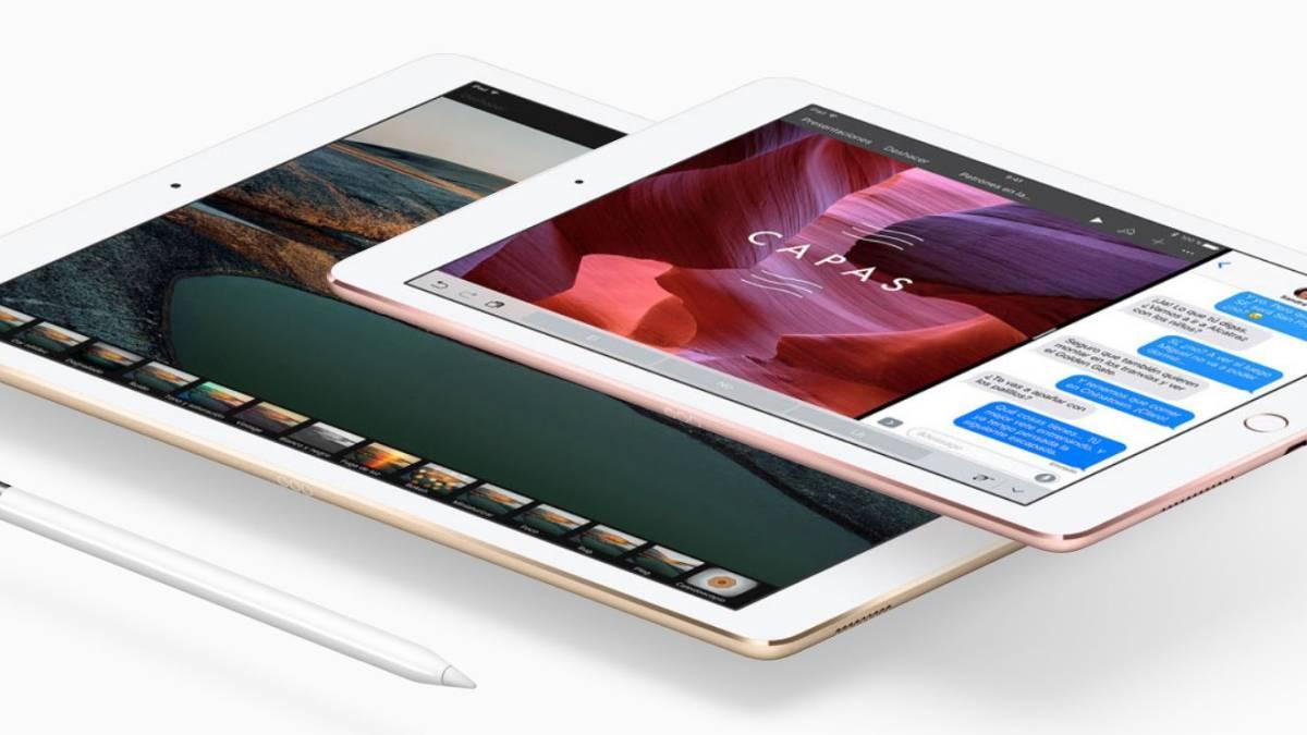 iPad Pro de 10,5 pulgadas y 12,9 pulgadas.