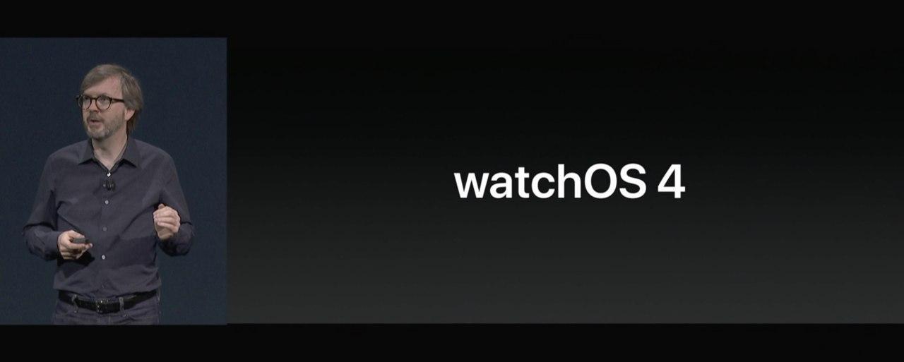 WatchOS WWDC 2017