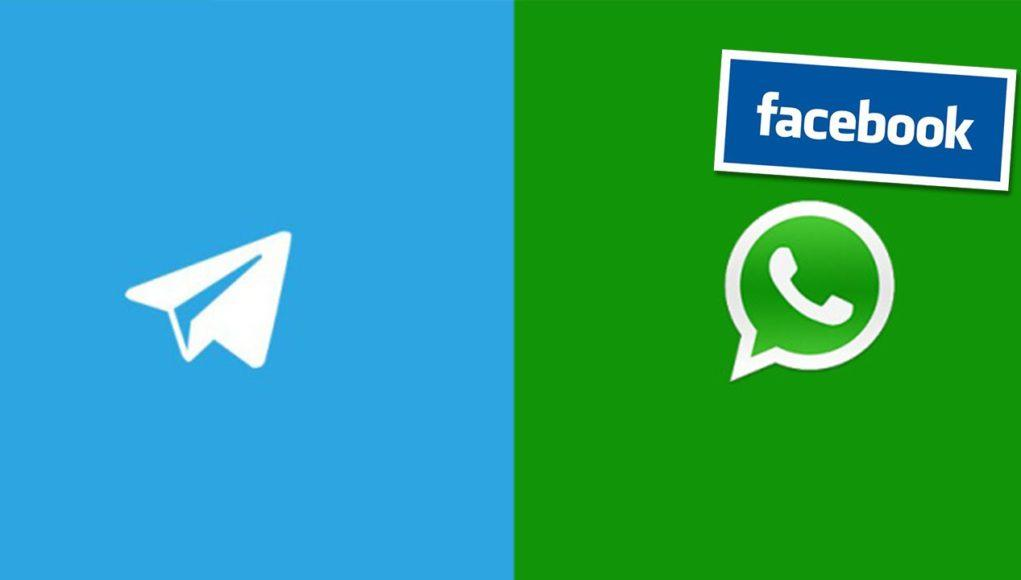 Comparativa entre WhatsApp y Telegram